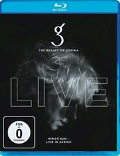 THE BEAUTY OF GEMINA - MINOR SUN-LIVE IN ZURICH    BLU-RAY NEW!