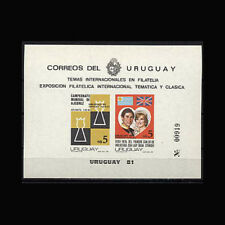 Uruguay, Sc #1115, MNH, 1981, Chess, Royalty, RO033F