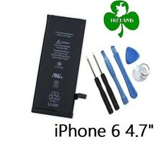 FOR iPHONE 6 6G NEW ORIGINAL BATTERY REPLACEMENT 1810mAh 3.82V 6.91Wh With Tools