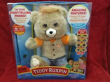NEW 2017 Teddy Ruxpin Story Telling Animated Bear Bluetooth HOT TOY!