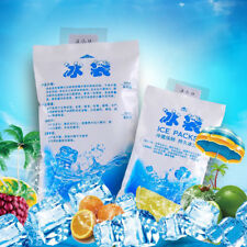 5Pcs 600ML Insulated Reusable Ice Pack Gel Cooler Ice Bag For Lunch Box NT
