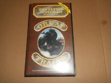 Great Trains - The Flying Scotsman in Australia - Steam Railways VHS/PAL Video