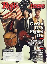 Rolling Stone May 28 2009 Green Day, Eminem w/ML 082516DBE