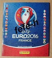 Panini - UEFA EURO 2016 - FRANCE - Album Vide et Neuf Edition Allemande