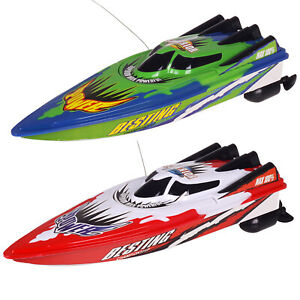Remote Control Twin Motor Boat RC Racing Speed Pond Fun Boat