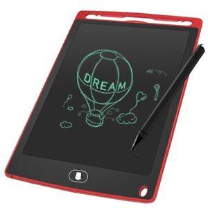 Schreibtafel 8,5 Zoll LCD Schreibtablet Kinder Ein-farbig LCD Writing Tablet-ROT