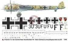 Peddinghaus 1/48 Dornier Do 17 Z-1 Markings 10./ZG 26 West Libya 1941 WWII 2224