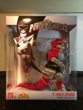 SABAN'S MIGHTY MORPHIN POWER RANGERS T-REX ZORD LEGACY COLLECTION IN HAND!