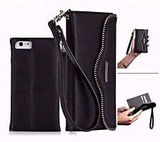 Case Mate Rebecca Minkoff Leather Folio Wristlet Wallet Case for iPhone 6s Black