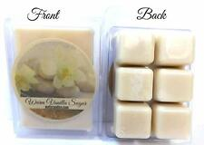 Warm Vanilla Sugar 3.2 Ounce Pack of Soy Wax Tarts - Scent Brick, Wickless Candl