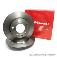 Mazda MX-5 MK1 1.8 Genuine Brembo Rear Brake Discs Pair x2