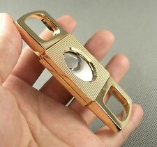 New Golden COHIBA Stainless Steel Cigar Cutters 878TK