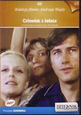 CZLOWIEK Z ZELAZA, A. WAJDA, Polish DVD, Polski film, po polsku