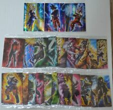 Dragon Ball Card Wafer Unlimited - Lot 24 cards (3 SR included)