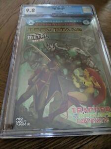 Teen titans 12 cgc 9.8
