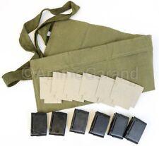 M1 Garand 8rd EnBloc Clips Bandoleer & Cardboard Insert Repack Set New