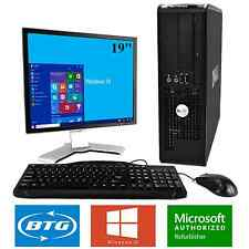 Dell Desktop Windows 10 Computer Fast 3.0GHz Core 2 Duo 8GB RAM 1TB HD DVD WiFi
