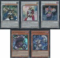 Yu-Gi-Oh Nordic Gods *5* Cards Set (Thor, Loki, Odin, Fenrir, *HOT + Extra Bonus