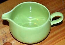 Vintage Homer Laughlin RHYTHM CREAMER Chartreuse Green