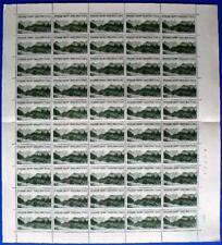 s28) CSSR árboles proof test sello 1966 cpl sheet Hojas Impresión de prueba Alta