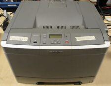 Lexmark C544N A4 Color Laser Printer Network USB 25PPM 1200 DPI / PAPER STUCK