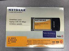 WG511NA NETGEAR 54 MBPS Wireless PC Card