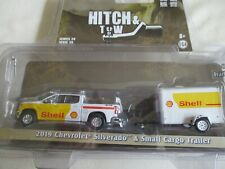 Miniature 1/64 Or 3 Inches Greenlight Set Chevrolet Silverado Trailer Shell