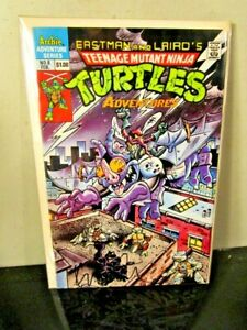 TMNT 8 ARCHIE Teenage Mutant Ninja Turtles SIGNED AUTOGRAPHED Kevin Eastman ~