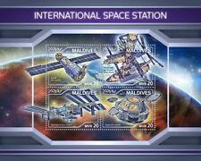 Maldives 2018 MNH International Space Station ISS 1v S/S Stamps