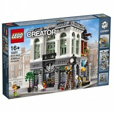 LEGO Collezionisti Creator Modular 10251 - La Banca (Brick Bank) NUOVISSIMO!!