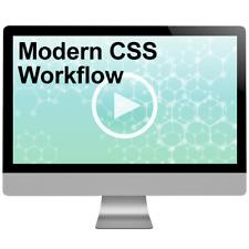 Modern CSS Workflow Video Tutorial Training