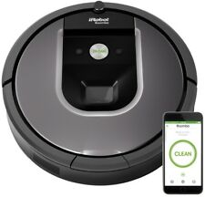 Vacuuming Robot Cleaning Wi-Fi Connected Home Floor Care Concrete Wood Grays