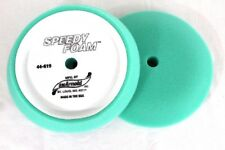 """9"""" Green Foam Buffing Pad   Hook & Loop Backing  SM Arnold  44-619  60 PPI"""