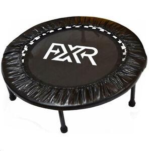 "Folding Round Mini Trampoline 36"" Aerobic Exercise Rebounder"