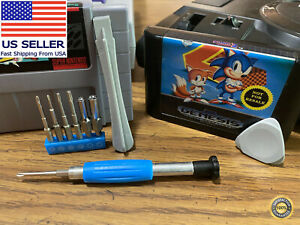Retro game screwdriver set includes gamebit, triwing, & more 🏅 90-day Warranty!