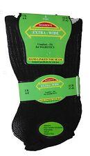 Womens Extra Wide Comfort Fit Diabetic Socks Oedema Poor Circulation Ladies 4-8