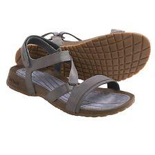 NEW TEVA 8 39 SANDAL FLIP FLOPS SHOE Leather Slate Cabrillo Crossover $80 Retail