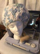 Vintage Signature Portable Electric Hair Dryer Plus 5 Piece Manicure Set