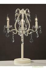 DUSX Marie Therese Cream Crack Candelabra (Electric)- 3 Light