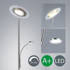 Lámpara de Pie Led Regulable Soporte Reflector Boden-Leuchte para Leer