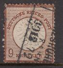 GERMANY 1872 SG 27 9 Kr. Type B Very Fine Used Cat$1000+..