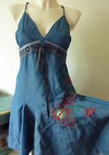 DESIGUAL Denim Dress Size 38 10