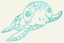 Sea turtle Vinyl decal sticker Salt Life Ocean Creatures Car Window Home Deco
