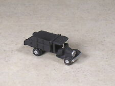 Z Scale 1928 Black Ford Dump Truck.