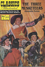 Modern Classics Illustrated Canadian Issue The Three Musketeers
