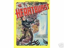 Heartburst Marvel Graphic Novel #10 Comic 1984 Nmunread