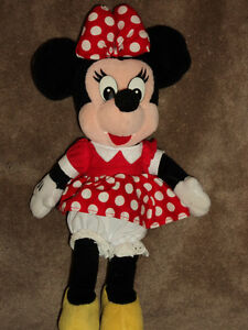 10 inch Minnie Mouse, plush toy doll