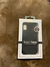 Case-Mate Barely There - iPhone Xs/X - black