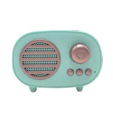 Portable Mini Retro Bluetooth Speaker Radio Stereo Old Fashioned Classic S K6N4
