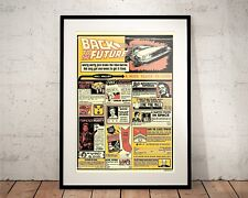Back to the Future. Limited Edition Print. Marty McFly (Prints/Poster)